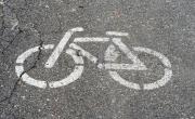 znak poziomy - rower