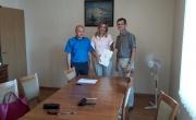 Spotkanie burmistrza z przedstawicielami BTBS i PGK
