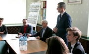 Burmistrz Barlinka i Młodzieżowa Rada Miasta