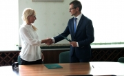 Podpisanie umowy na przebudowę drogi w Nowej Dziedzinie